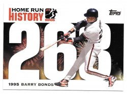 2005 Topps Topps Barry Bonds Home Run History Barry Bonds (Home Run #263)