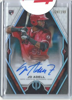 2021 Topps Tribute Jo Adell Rookie Autograph