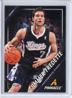 2013-14 Panini Pinnacle Jimmer Fredette Artists Proofs Blue