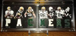 Panini Playbook Packers Clay Matthews