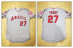 2012  Majestic Authentic Collection Mike Trout Jersey