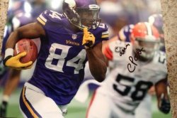 Cordarrelle Patterson Signed and Personalized Photo