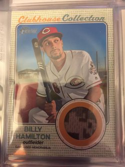 2017 Topps Heritage Billy Hamilton  Clubhouse Collection