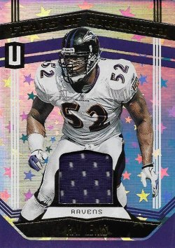 Ray Lewis 2019 Panini Unparalleled Feats of Greatness Jerse Astral 067 of 150