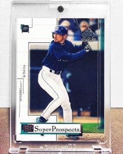 2001 Upper Deck SP Game Used Edition Ichiro Suzuki /500