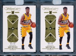 2015-16 Panini Flawless Emmanuel Mudiay Diamond RC