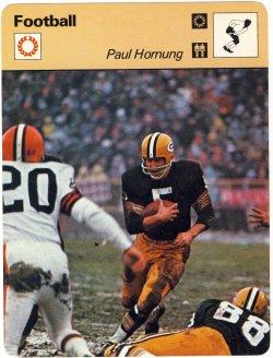 1977  Sportcasters Paul Hornung