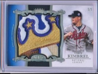 Craig Kimbrel 2013 Topps Tier One All Star Relics 1/1
