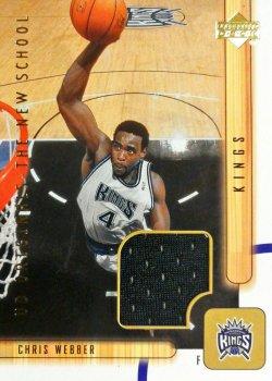2001-02 Upper Deck UD Originals Jerseys Chris Webber