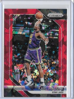 2018-19 Panini Prizm Karl Malone Red Ice