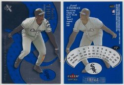 2000  EX Essential Credentials Future Frank Thomas