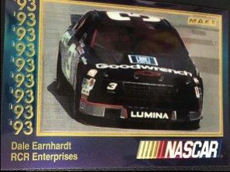 1993  MAXX NASCAR Premier Plus DALE EARNHARDT #56 CHEVY LUMINA  #3