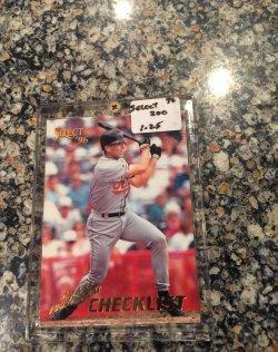 1996 Score  Select Checklist-#200