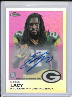 2013 Topps Chrome 1969 Refractor Autograph - Eddie Lacy