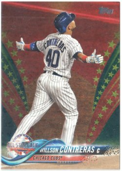2018 Topps Update Independence Day Willson Contreras
