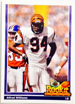 1991 Upper Deck Rookie Force Alfred Williams
