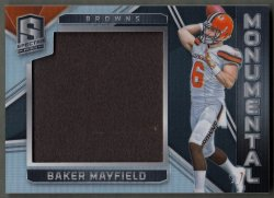 2018 Panini Spectra Monumental Materials Baker Mayfield