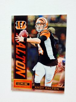 2013 Panini R&S Longevity  Andy Dalton