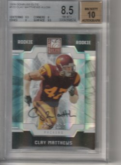 2009 Donruss Elite Clay Matthews
