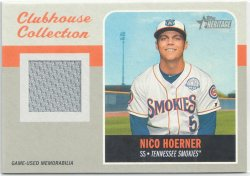 2019 Topps Heritage Clubhouse Collection Nico Hoerner