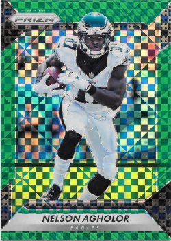2016 Panini Prizm Green Power Nelson Agholor