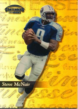 1999 Playoff Contenders SSD Finesse Gold #73 Steve McNair