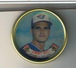 1988 Topps topps coin Jimmy Key
