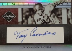 2007 Leaf Limited Tony Canadeo Cut Auto