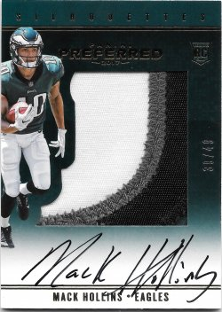 2017 Panini Preferred Silhouettes Prime Mack Hollins