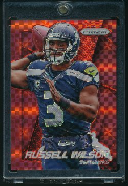 2014 Panini Prizm Red Power Russell Wilson