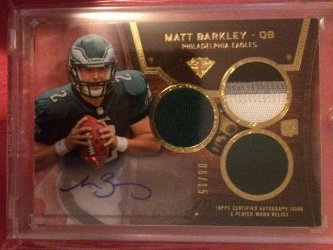 2013 Topps Triple Threads Matt Barkley