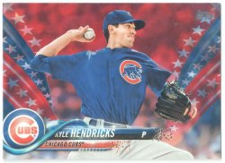 2018 Topps Independence Day Kyle Hendricks