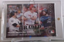 2016 Topps Topps Now Jay Bruce Traded