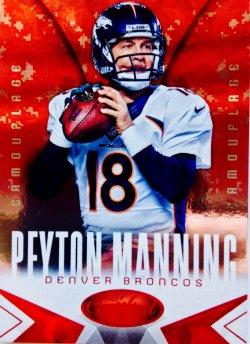 2014 Panini Certified Hot Box Camouflage   Peyton Manning