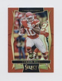 2016 Select Prizm Red #65 Tyreek Hill/99