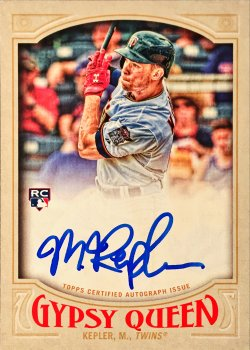 2016 Topps Gypsy Queen Autographs Max Kepler