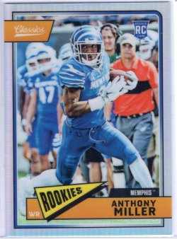 2018 Panini Classics Anthony Miller Premium Edition Blank Back