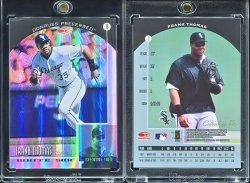 1998  Donruss Preferred Prized Collections Frank Thomas