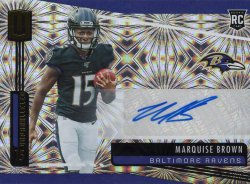 Marquise Brown 2019 Panini Unparalleled RC Fireworks Autograph