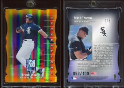 1998   Donruss Elite Status GEN Frank Thomas
