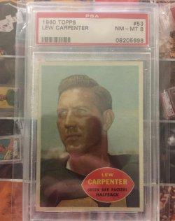 1960 Topps  Lew Carpenter