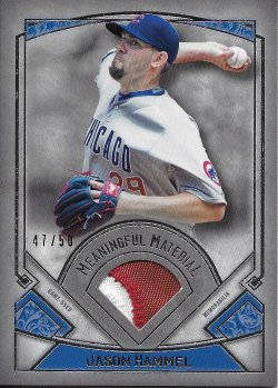 2017 Topps Museum Collection Meaningful Materials Relics Hammel