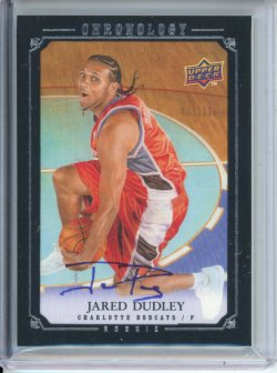 2007-08 Upper Deck Chronology Jared Dudley Rookie Auto