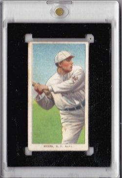 1909  T206 Chief Myers  Batting
