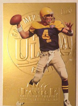 1995 Fleer Ultra Gold Medallion Brett Favre