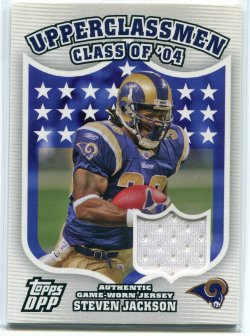2007 Topps Draft Picks & Prospects Steven Jackson Upperclassmen