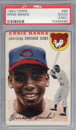 1954 Topps Topps Ernie Banks