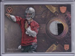 Derek Carr 2014 Topps Valor Patches
