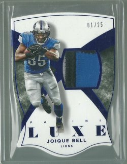 2015 Panini Luxe Joique Bell