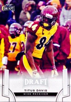 2015 Leaf Draft Titus Davis